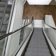 Holland, Amsterdam, escalator in a public library — Stockfoto