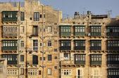 Malta Island, view of Valletta, old buildings — Stock Photo