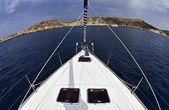 Isla de malta, vista de la costa rocosa del sur de la isla — Foto de Stock