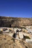 Malta, Gozo Island, view of Dwejra internal lagoon — Stock Photo