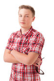 Portrait Of A Teenage Boy — Stock Photo