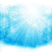 Festive sparkling light blue background (eps10) — Stock Vector