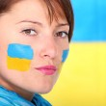 Confident Ukrainian girl — Stock Photo
