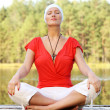 Yoga in the nature — Stock Photo #7324069