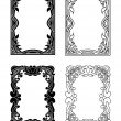 Picture frames 4 — Stock Vector