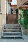 Merdiven ve kapı — Stok fotoğraf