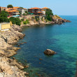 Stock Photo: Seashore. Nessebar. Bulgaria.