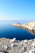 Ruin on island pag in croatia - Ruine auf Pag in Kroatien — Stock Photo