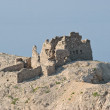Stock Photo: Ruin on island pag in croatiat summer day - Ruine auf Pag