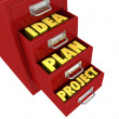 Organize and protect the work — Stock Photo #6817868