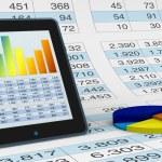 Modern financial analysis — Stock Photo #7258471