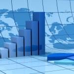 Análisis financiero global — Foto de Stock