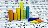 Tablas y hojas de cálculo — Foto de Stock