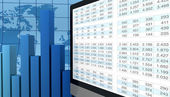 Análise financeira moderna — Foto Stock