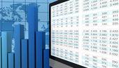 Análisis financiero moderno — Foto de Stock