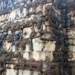 Sculpted wall, Angkor Wat — Stock Photo