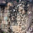 Sculpted wall, Angkor Wat — Stock Photo #7249890