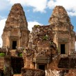 East Mebon Temple of Angkor, Cambodia - Stock Photo