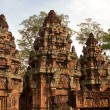 Banteay Srei Temple. Angkor, Cambodia - Stock Photo