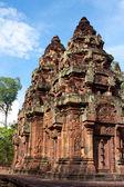 バンテアイ ・ スレイ寺。カンボジア アンコール — ストック写真