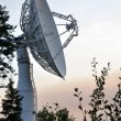 Satellite Communications Dish - Stock Photo