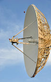 Satellite Communications Dish — Stok fotoğraf