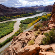 Stock Photo: Moab Portal View of Colorado River