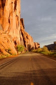 Wall Street Cliffs near Moab — Stock Photo