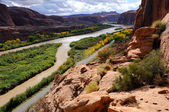 Moab Portal View of Colorado River — Stock Photo