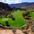 Stock Photo: Moab Desert Golf Course
