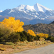 Stock Photo: LSal Mountain Byway in Fall