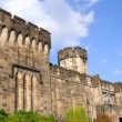 Stock Photo: Outer Walls of Historic Eastern State Penitentiary in Philadelphia