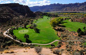 Moab Desert Golf Course — Stock Photo
