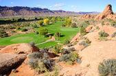 Moabs öken golfbana — Stockfoto