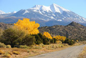 La Sal Mountain Byway in the Fall — Stock Photo