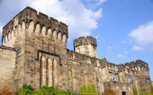 Outer Walls of Historic Eastern State Penitentiary in Philadelphia — Stock Photo
