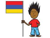 Armenia flag — Stock Vector