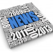 Stock Photo: Annual News Events