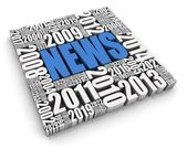 Annual News Events — Stock Photo
