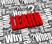 Aprendizaje — Foto de Stock