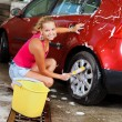 Sexy womcarwash — Stock Photo #7139154