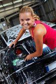 чистый автомобиль — Стоковое фото