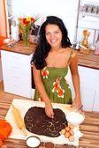 Making cake — Stock Photo