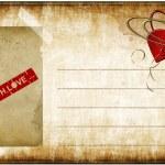 tarjeta de amor — Foto de Stock