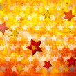 Grunge stars background - Foto Stock