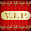 Vip card — Stock Photo