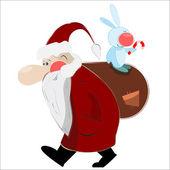 Christmas santa claus — Stock Vector