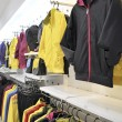 Stock Photo: Sportswear shop