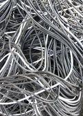 电缆背景 — 图库照片