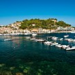 Elba island (blue harbour) - Stock Photo